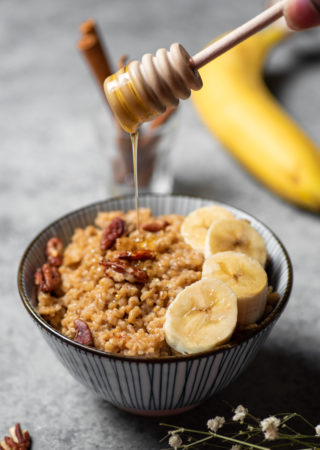 Pressure Cooker Banana French Toast Oats
