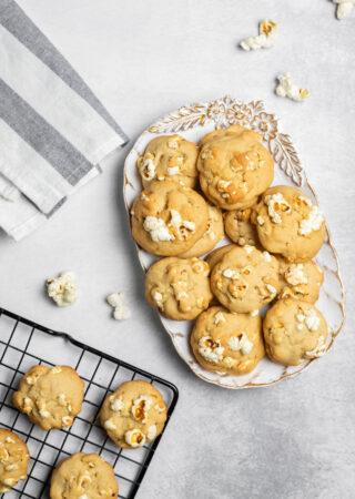 Buttery Popcorn Cookies
