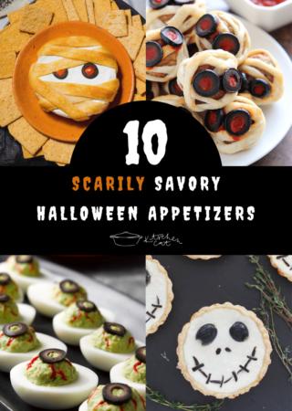10 Savory Halloween Appetizers