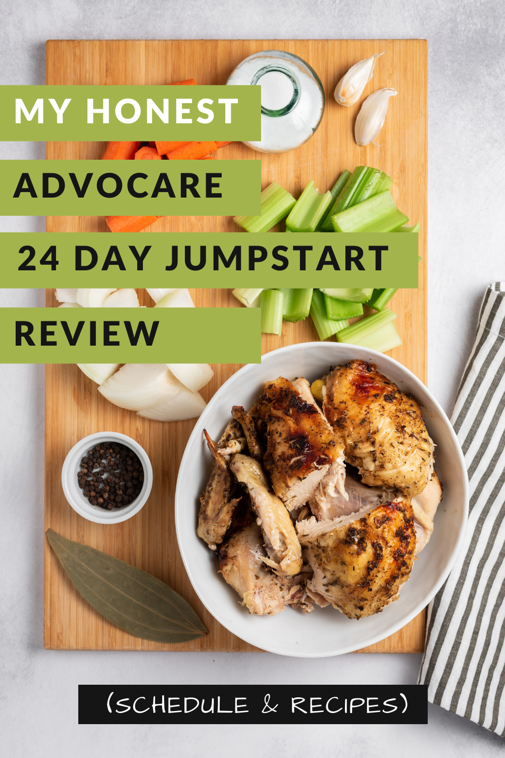 My Advocare 24 Day Jumpstart Experience Kitschen Cat