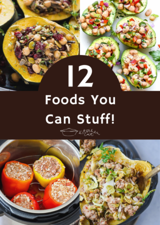 12 Foods You Can Stuff